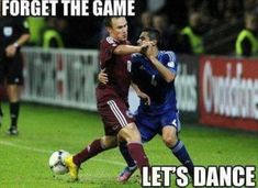 Forget the game let's dance! Funny soccer meme - Funny Sports - - Forget the game let's dance! Funny soccer meme The post Forget the game let's dance! Funny soccer meme appeared first on Gag Dad. Funny Soccer Pictures, Funny Soccer Memes, Funny Photos, Funny Jokes, Funny Nfl, Soccer Humor, Funny Troll, Stupid Funny, Funny Cute