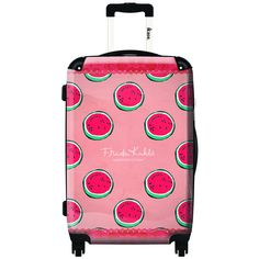 iKase Watermelon Texture 20-inch Hardside Carry-on Upright Fashion Suitcase