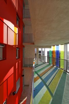 Urban Lab Global Cities (ULGC): Arc-en-Ciel Building in Bordeaux, France by Bernard Buhler