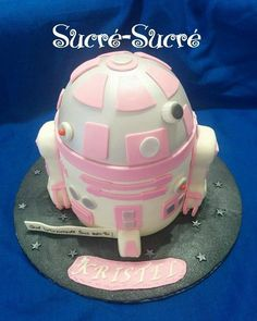 Girly R2D2 - Cake by sucresucre