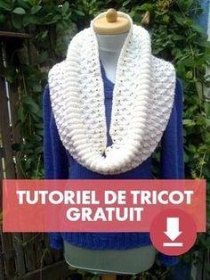 Tutoriel snood écharpe tube Blanche-Neige - Tutoriels de tricot chez  Makerist 017f2992a58