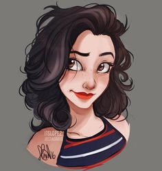makes a self portrait just because by itslopez - this is what i want my hair to look like
