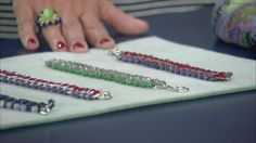 Everyone loves a good DIY project, especially when you can wear it. Check out this beautiful beaded jewelry!