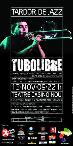 Cliente/Client: Jazz Obert Servicio/Service: Cartel/Poster 2009 (Periode profesional: Model Grafic, sl)