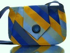 a Sharee Design:Custom Recycled Necktie Purse