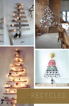 xmas tree ideas when you lack space