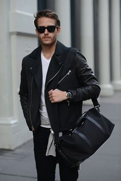 Clipper duffle | Featured on http://iamgalla.com/2015/03/mulberry-in-motion/