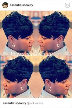 The Best Short Haircut Styles For Women – HerHairdos Short 27 Piece Hairstyles, Black Women Short Hairstyles, Short Sassy Haircuts, Quick Weave Hairstyles, Short Haircut Styles, Cute Hairstyles For Short Hair, Short Hair Cuts, Bob Hairstyles, Hairdos