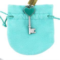 turquoise Tiffany Key