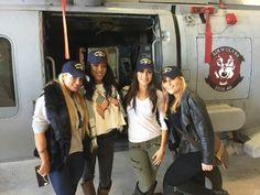 Natalya, Brie Bella, Alicia Fox, Amanda Saccomanno Supporting the Troops