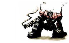 Optimus Prime smokin hot