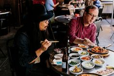 In the city's sprawling exurbs, home to some 50,000 Korean immigrants, John T. Edge and musician Joe Kwon taste a new kind of Southern cooking