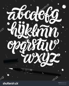 stock-vector-handwritten-script-font-hand-drawn-brush-style-modern-calligraphy-cursive-typeface-hand-lettering-485467126.jpg (1289×1600)