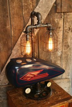 Browse our internet-site for much more relating to this incredible harley davidson vintage Norton Cafe Racer, Triumph Cafe Racer, Vintage Industrial Decor, Industrial Lamps, Vintage Modern, Vintage Lighting, Harley Davidson, Modern Cafe Racer, Cafe Racer Build