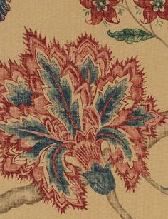 Palampore fabric from Sanderson