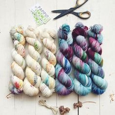 Gorgeous yarn from @amelia_put