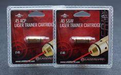 Laser training cartridges