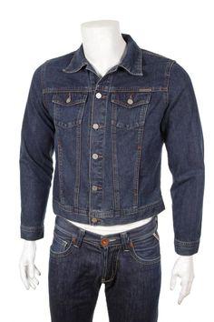 Vintage 90s  Jeans Jacket Men's Medium M by VapeoVintage on Etsy