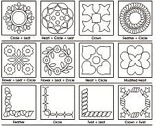 Free Hand Quilting Patterns | 10% off Printable Quilting Designs ... : free hand quilting patterns for beginners - Adamdwight.com