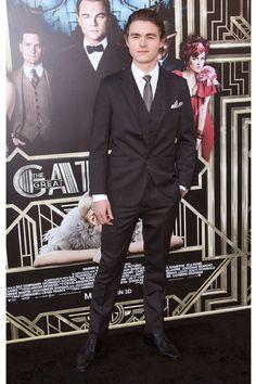 The boys at Gatsby's party - Callan McAuliffe