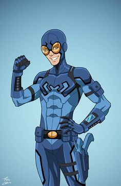 """""""Blue Beetle"""" sponsored by for Roysovitch's project. Concept/Design by Roy Westerman Character Owned by DC Comics. Arte Dc Comics, Dc Comics Superheroes, Marvel Comics, Superhero Characters, Dc Comics Characters, Movie Characters, South Park, Power Rangers, Comic Character"""