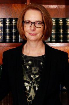 Australia's first female Prime Minister Julia Gillard!