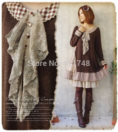 Find More Information about Lolita dress mori girl loose dress tricotado knitted winter dress elegant manteau desigual party brandy melvill vestido longa,High Quality dresses missoni,China dress beige Suppliers, Cheap party cute dresses from Say-Buy Discount Store  on Aliexpress.com