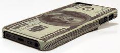 Dollarschein iPhone 5 Cover Hülle. US-Dollar 10 dollar Schein. Design by DEDICATEd. aus Schweden #iphonecase #iphone5
