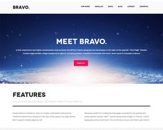 10 Best One-page WordPress Parallax Themes