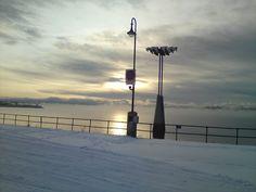 Klokkespill, Hamar Cn Tower, Building, Winter, Travel, Nature, Buildings, Viajes, Traveling, Tourism