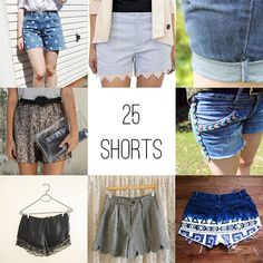 25 DIY Shorts for Summer - Henry Happened
