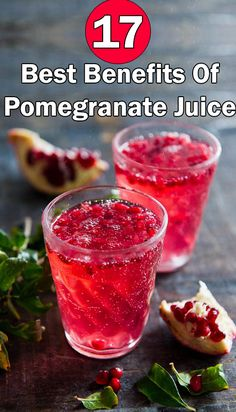 17 Best Benefits Of Pomegranate Juice
