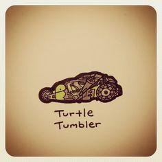 Built for turtle Island Cute Turtle Drawings, Easy Drawings, Animal Drawings, Tiny Turtle, Turtle Love, Cute Turtles, Baby Turtles, Sheldon The Tiny Dinosaur, Kawaii Turtle