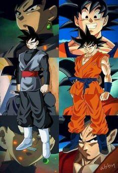 Goku vs Goku Black