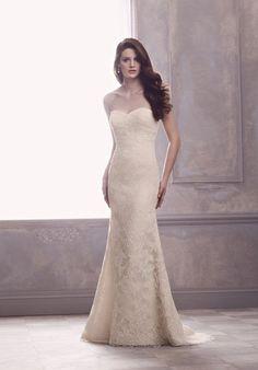 Paloma Blanca 4412 Wedding Dress - The Knot