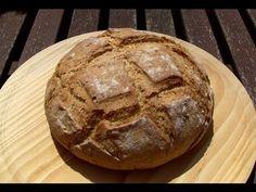Pan casero para principiantes (como hacer pan) - YouTube