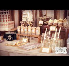 Vintage Design Table - Más... - Party Design - Party Design