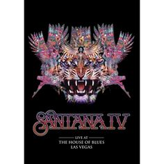 Santana IV: Live at the House of Blues, Las Vegas DVD