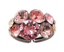 Konplott Petit Glamour Ring beige pink