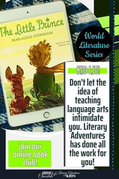 In this course, we'll read through the abridged, storybook by Antoine de Saint-Exupéry. We'll go on rabbit trails of discovery into science, history, and more. We'll find ways to learn by experiencing parts of the book through hands-on activities and then throw a party school to celebrate the little prince and the aviator This online literary guide has everything you need to study the book, including spelling, grammar, & rabbit trails. It is perfect for a month of elementary literature.