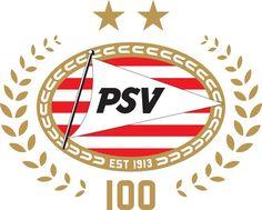 PSV logo 100 years