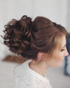 40 Most Beautiful And Stunning Inspirational Updo Hairstyles For Prom And Wedding - Page 8 of 39 - Marble Kim Design New Hair, Your Hair, Medium Hair Styles, Long Hair Styles, Prom Hair Updo, Perfect Woman, Trendy Hairstyles, Hair Trends, Updos