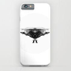 Lineart_bird iPhone & iPod Case by Kristina Drozdovskaya - $35.00