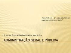 Curso online de Administração Geral e Pública