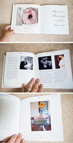 DIY Modern Baby Books    -Made one for Makenna for when she's older