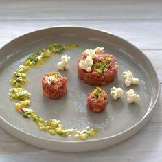 bushcooks kitchen: Ceviche von der Hüfte | Vinaigrette | Popcorn aus Rind Complete von Lucki Maurer