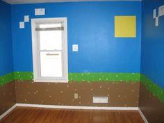 Kids Bedroom Minecraft minecraft mural - google search | kids craft - minecraft