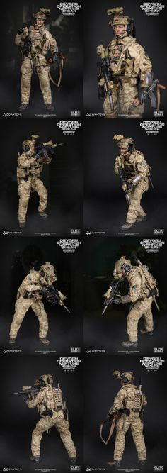 """-DEVGRU Operation Neptune Spear """"GERONIMO"""" Small Soldiers, Toy Soldiers, Special Ops, Special Forces, Camouflage, Survival, Us Navy Seals, Military Action Figures, Custom Guns"""