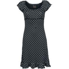 Dotted Dress - Mekko - Queen Of Darkness - Tuotenumero: 269775 - alkaen 59,99 € - EMP.fi - naisten ja miesten vaatteet sekä bändipaidat ja m...