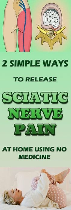 2 SIMPLE WAYS TO RELEASE SCIATIC NERVE PAIN AT HOME USING NO MEDICINE – B V Daily